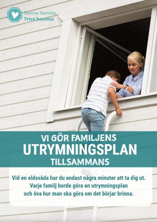 Familjens utrymningsplan